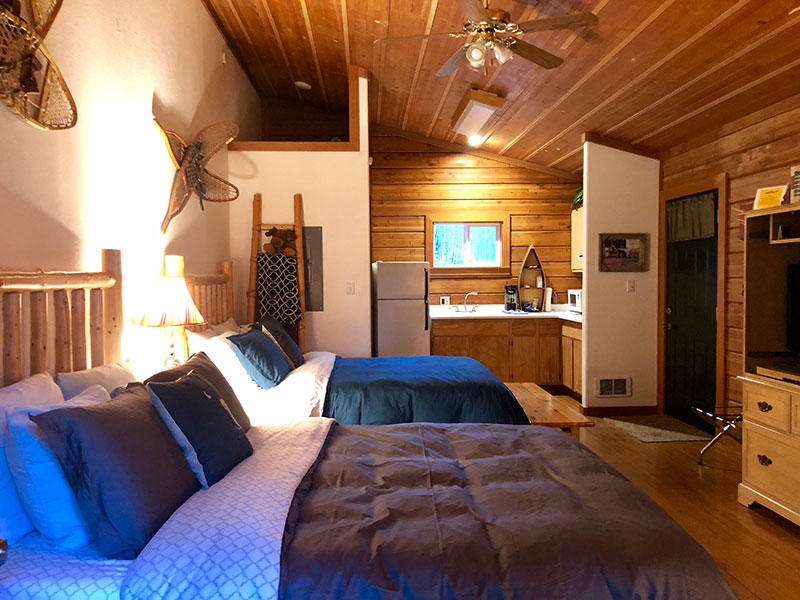 One of our cabins in Forks
